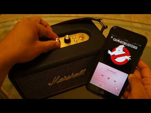 Marshall Kilburn Bluetooth Speakers Video Review