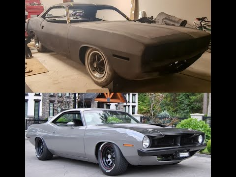 1970 Cuda Resto Mod Rotisserie Build - 10 Years In The Making!