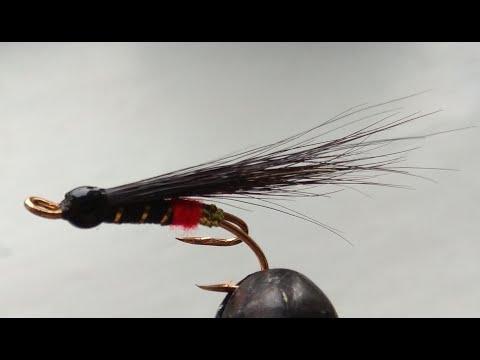 Лососевая мушка:  RED BUTT