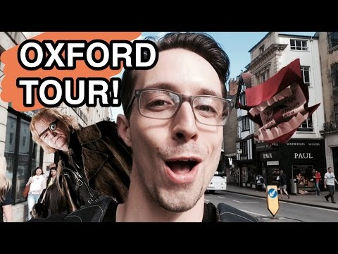 Harry Potter: OXFORD FILM TOUR!