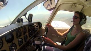 flying with emma piper arrow pa28r flight santiago chile