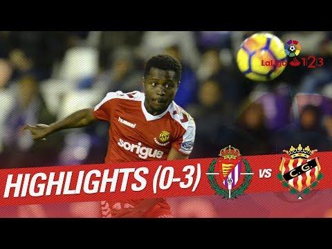 Resumen de Real Valladolid vs Nàstic (0-3)