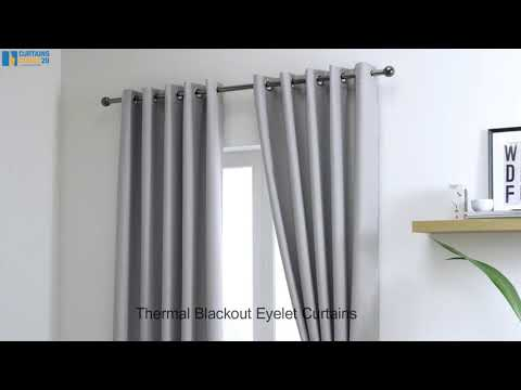 Thermal Eyelet Curtains
