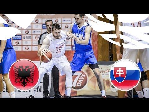 Albania v Slovakia - Full Game - FIBA U20 European Championship Division B 2018