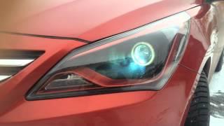 LED CAR Studio Hyundai Solaris смотреть