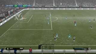FIFA 14 Xbox One Gameplay - Juventus vs Napoli