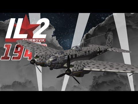 Full IL-2 1946 mission: London Raid during the Blitz, 1940