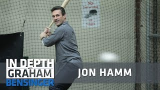 Jon Hamm vs. Graham: Batting cage challenge