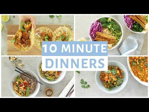 easy-10-minute-dinner-recipes-|-healthy-dinner-ideas