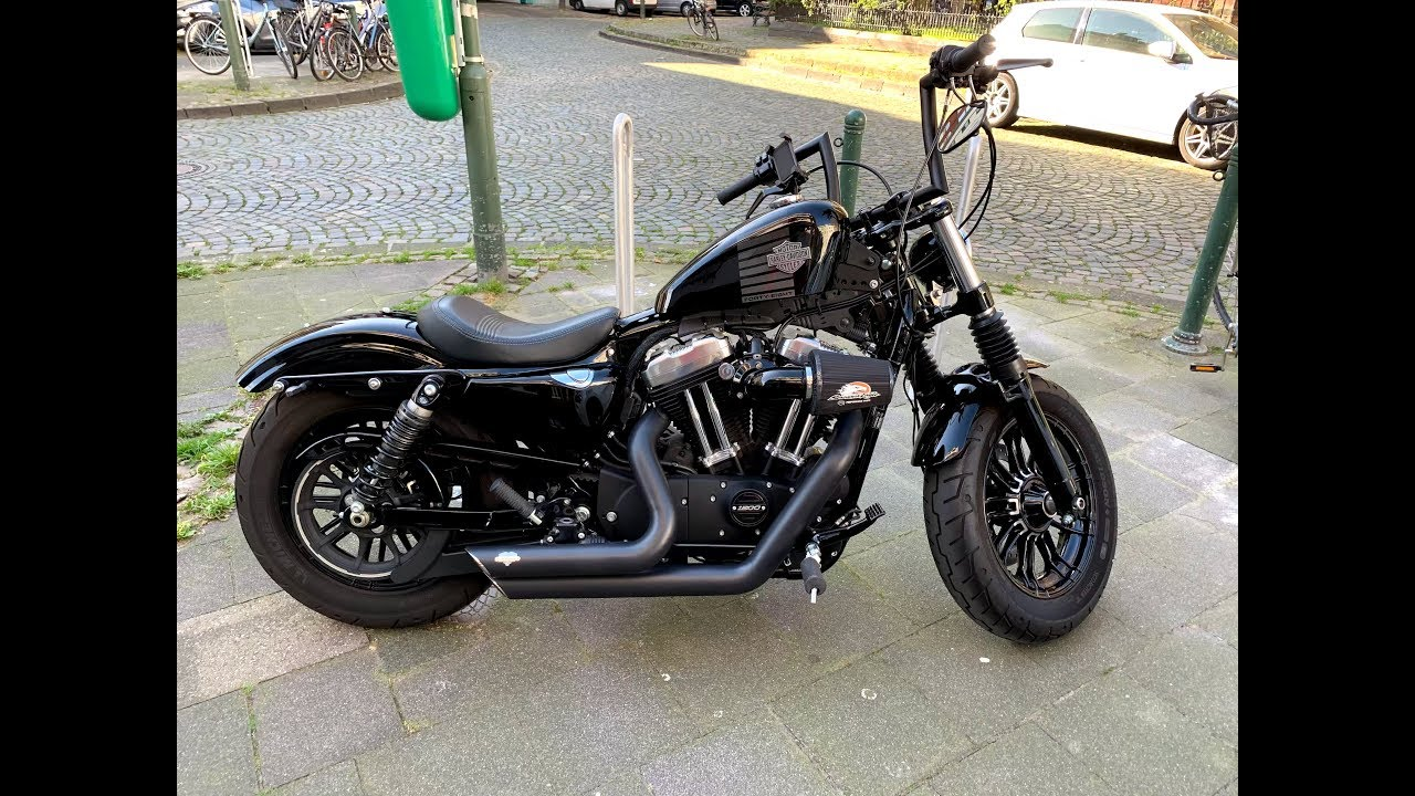 Schwarz OSAN Luftfilter CNC-Aluminum fit fuer Harley sportster XL883 XL1200 1988-2015