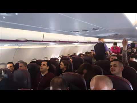 Wizz Air | A320-200 | Skopje - Luebeck | *full flight*