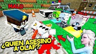 ¿QUIÉN ES EL ASESINO DE OLAF? - FROZEN 2 EN MINECRAFT