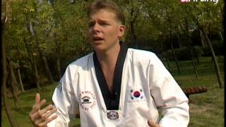Taekwondo Step by Step Ep154 Taegeuk 6 Jang 칼제비 때리기에 대한 방어와 돌려 공격하기