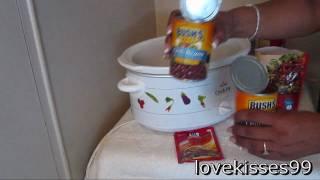 5 Ingredients To Fabulous.. Slow Cooker Vegetarian Chili