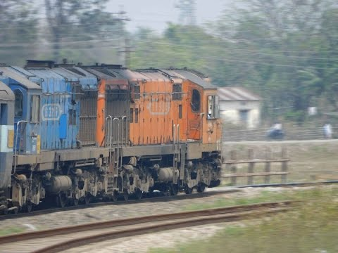 [IRFCA]New Jalpaiguri to Guwahati Journey Compilation by Kamrup Express