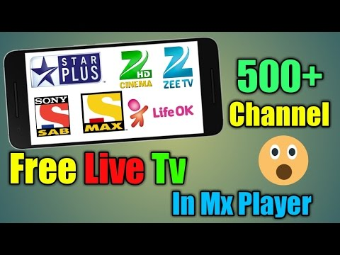 MX PLAYER से FREE मे Live TV केसे देखते हे | 100% WORKING Watching Free Live Tv Channel On Android