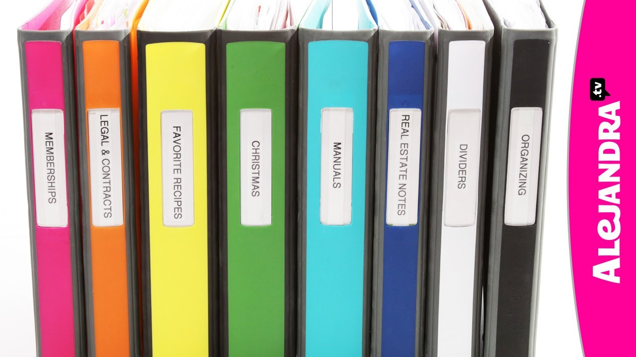 binder organization with better binders from staples youtube