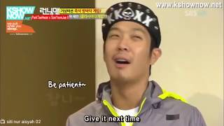 Yoo Jae Suk & Haha Child Fight
