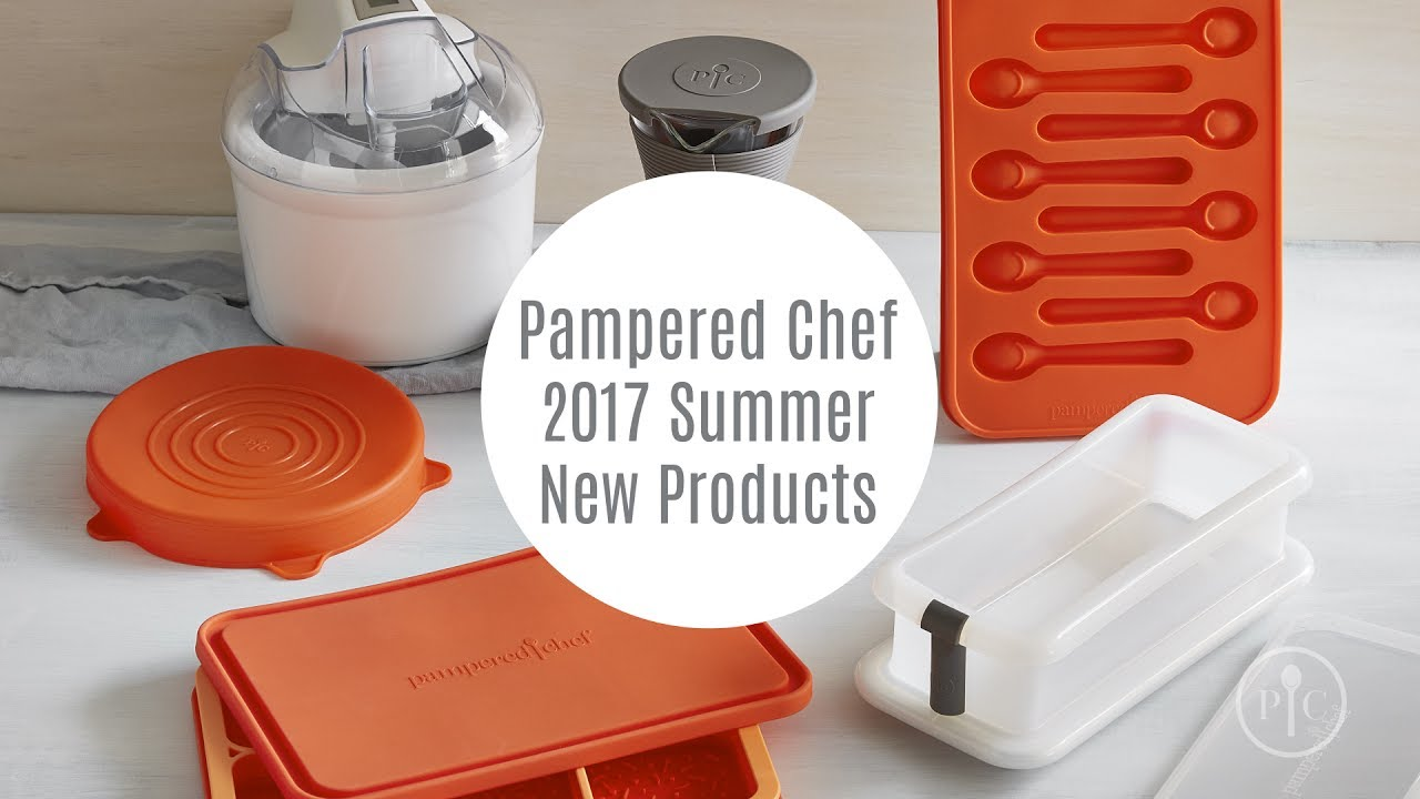 foto de Summer 2017 New Products Pampered Chef YouTube