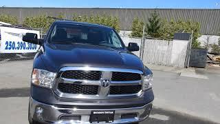 2015 Ram 1500 Crew Cab 4x4 Hemi No Accidents  at Woodgrove Chrysler in Nanaimo!