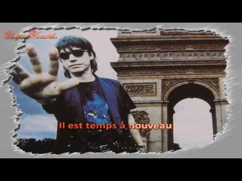 Karaoké - Jean Louis Aubert - Temps à nouveau