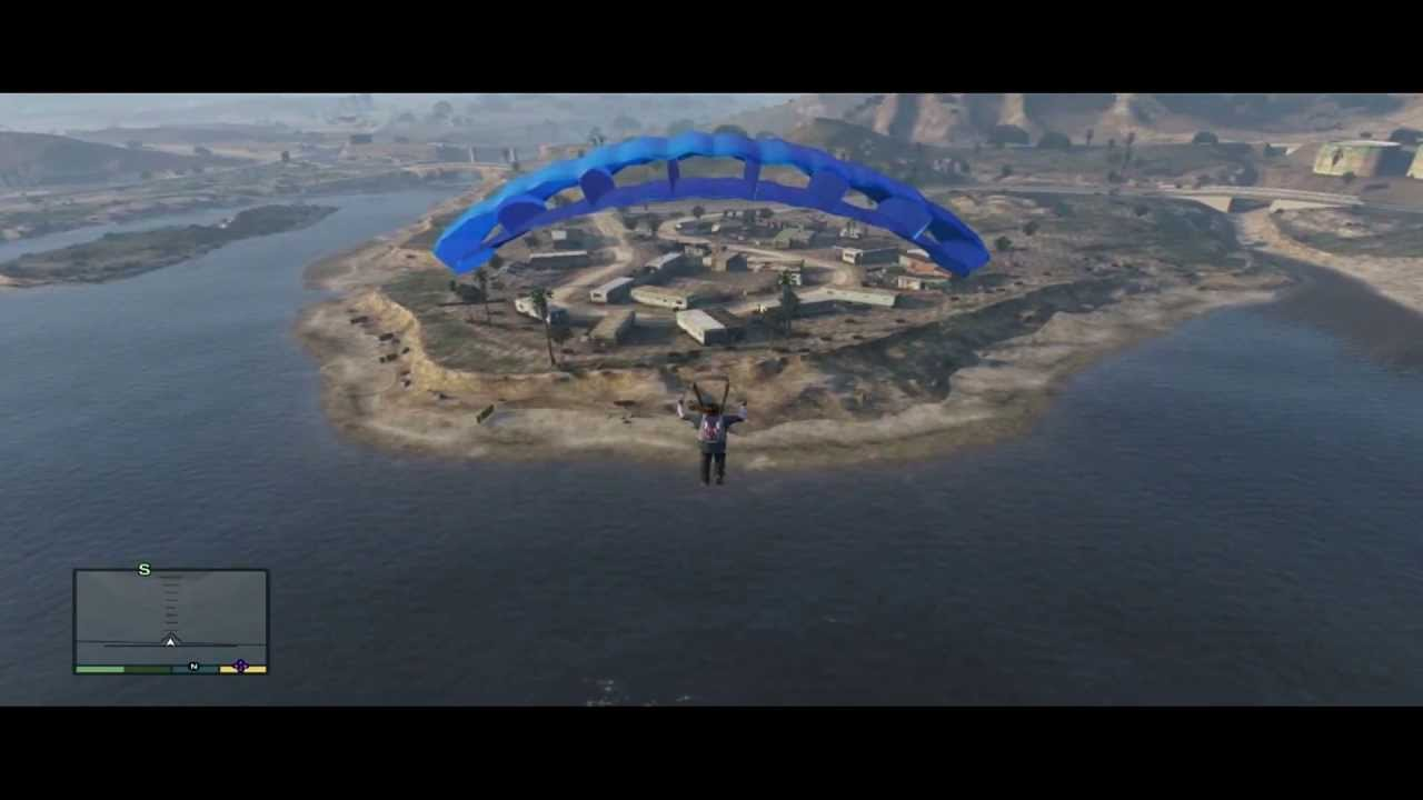 gta how to use parachute