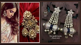 Designer kundan earrings || LONG EARRINGS || LIFESTYLE