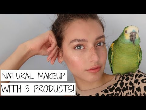 3-Product Natural Everyday Makeup Tutorial | Jessica Clements