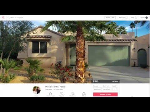 Palm Desert Luxury Vacation Rental $395 per night Best Price El Paseo District Palm Desert, CA
