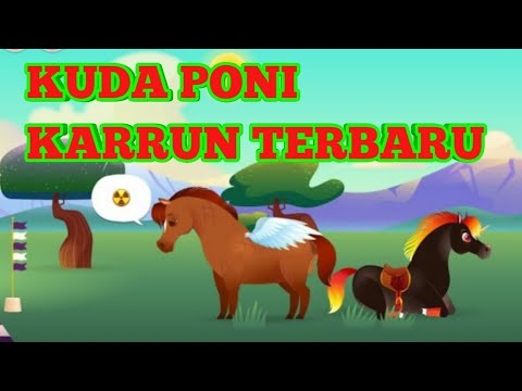 Kuda Poni Kartun Lucu Kartun Anak Anak 66 Youtube