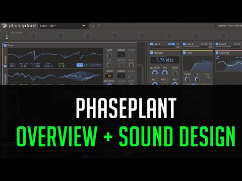 Phase Plant Overview + Snare Design Tutorial! thumbnail