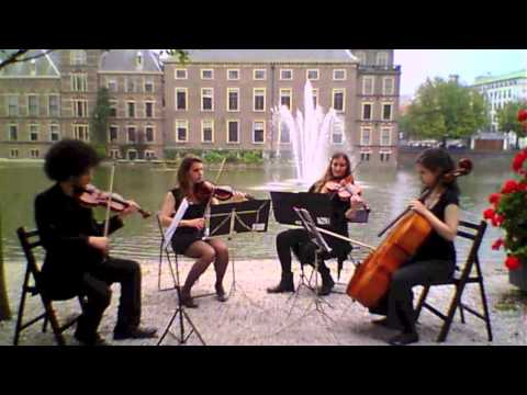 """Spring"" Vivaldi, ""Kaunis String Quartet"""
