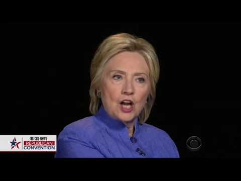 Charlie Rose Looks Troubled By Hillary Clinton's Answer About Her Trust Problems