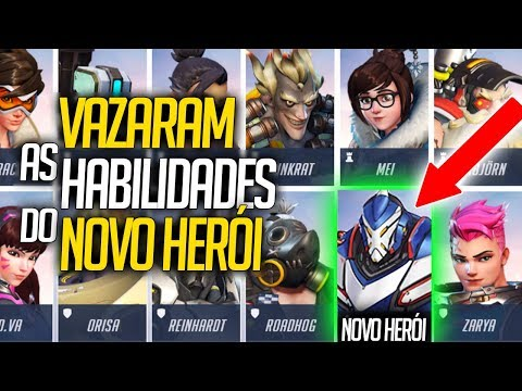 VAZARAM AS HABILIDADES DO NOVO HERÓI TANK DO OVERWATCH - Central Overwatch Brasil