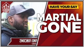 MARTIAL IS GONE! Manchester United 0-1 West Bromwich Albion | The United Stand FANCAMS