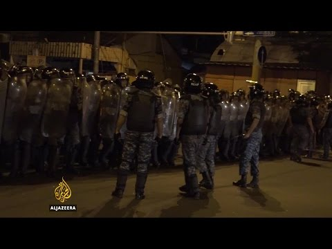 Armenian Protesters Clash With Police In Yerevan