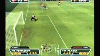 Redcard 2003 Gameplay - Ecuador vs Denmark