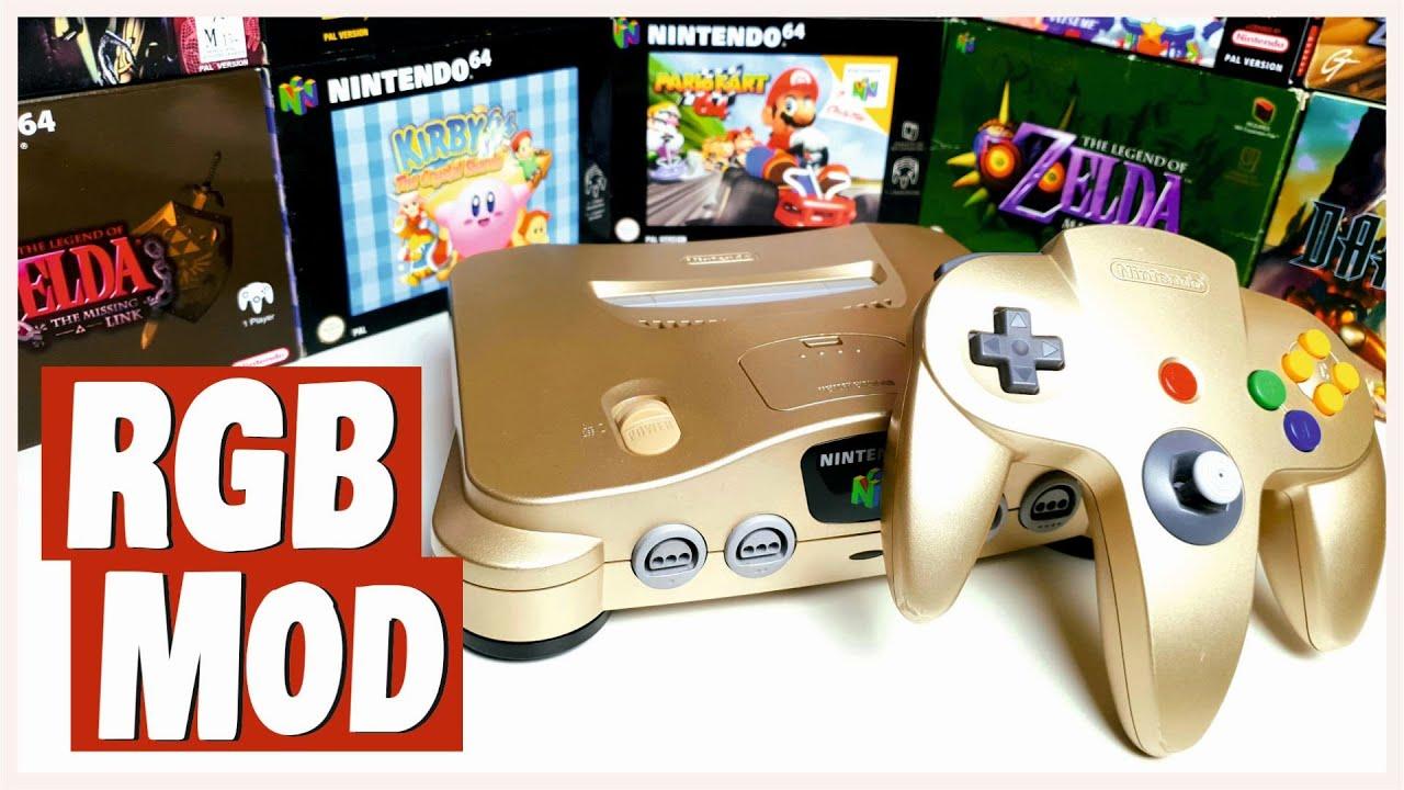 Download N64 mit RGB Mod und DeBlur - So bekommt ihr das BESTE (analoge) Bild aus eurem Nintendo 64