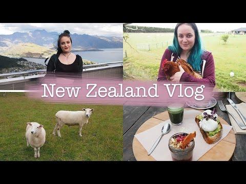 New Zealand Vlog ♥ Queenstown, Rose Gardens + Farm Animals