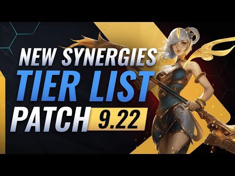 NEW UPDATE: BEST Synergies TIER List – Teamfight Tactics Patch 9.22