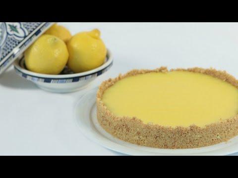[ENG] No Bake Lemon Tarte / تارت الليمون بدون خبيز - CookingWithAlia - Episode 455