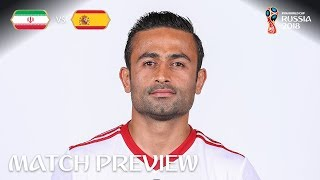 Omid Ebrahimi (IR Iran) - Match 20 Preview - 2018 FIFA World Cup™