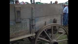 Antique Weber Wooden Wagon Sold On Illinois Farm Auction