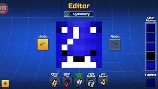 How to make a fortnite skin(Fireworks Team Leader):Pixel Gun 3D part #4