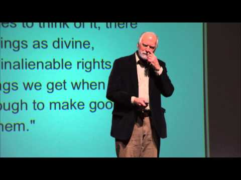 Americans who tell the truth and narrative activism: Robert Shetterly at TEDxYouth@JBMHS