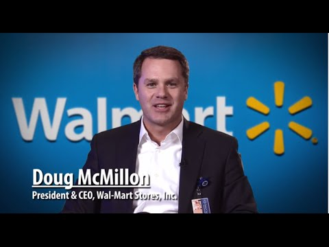 Doug McMillon became the CEO of Walmart in 2014