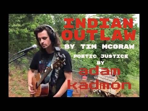 Indian Outlaw - Tim McGraw - Adam Kadmon acoustic cover (loop pedal)