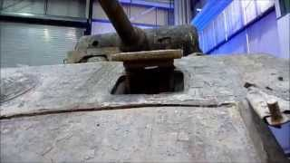 Panther tank wreck at the Auto & Technik Museum Sinsheim