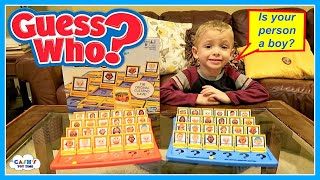 GUESS WHO Kid's Ultimate Challenge Classic Game Review
