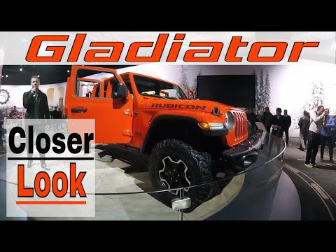 A Closer Look 2020 Jeep Gladiator [ Detroit Auto Show ]